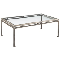 <p>Eden S COcktail Table is a Sophisticated Classic Iron Framed Table with Tempered Glass Insert Top.</p>