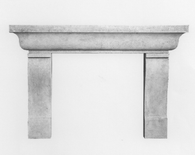 Abbott- Fireplace Mantle
