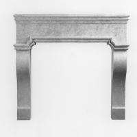 """Abigale Cast Stone Firplace Surround can be Used indoors or Outdoors. There are several Stone Color Options Avail. No Custom Sizing. Fire Box Opening Dimensions are 50""""W x 37""""H. Ships in 3 Pieces and is Crated. You will need a reciever to order this item (fees not included in the price listed). Allow 8-10 weeks for delivery fo this item."""