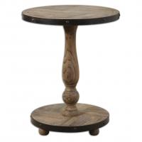 U-rustic Side Table