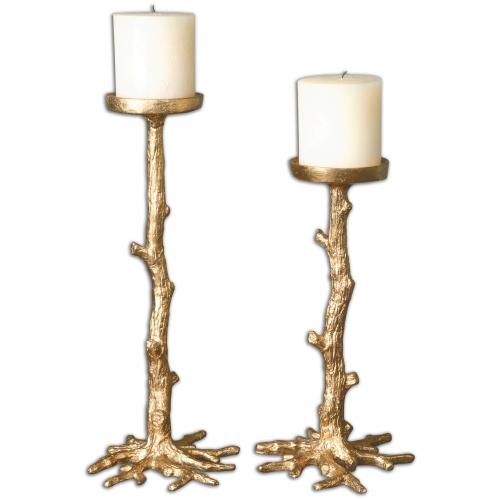 U-twig Candleholders