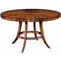 Ean is a Beautiful Round Rosewood Veneered Dining Table with Clean Modern Lines.
