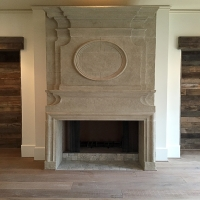 Aaralyn- Fireplace Surround And Over Mantle
