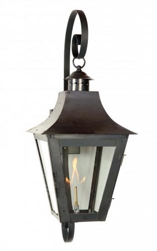 Falk- Exterior Gas Lantern